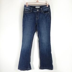 White House Black Market Blanc Boot cut Jeans